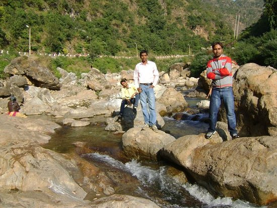 Jammu, Indien: In the way to shiv khori