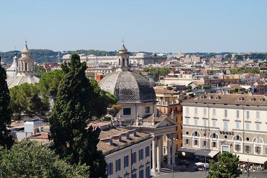 Vista dalla terrazza del Pincio. - Foto di Monte Pincio, Roma ...