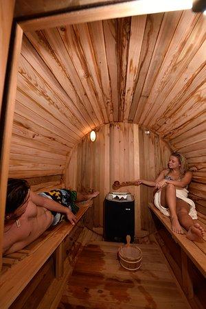Les Hauderes, İsviçre: Espace sauna