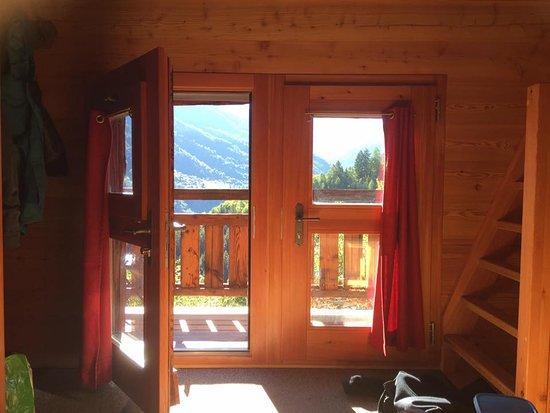Saint Jean, Schweiz: Wohnzimmer mit Aussicht