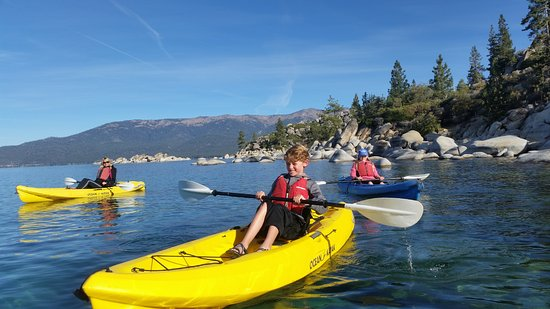 Tahoe Vista, Kalifornien: Near the Sand Harbor put-in