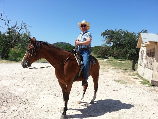 Mayan Dude Ranch: Ride em cowboy!