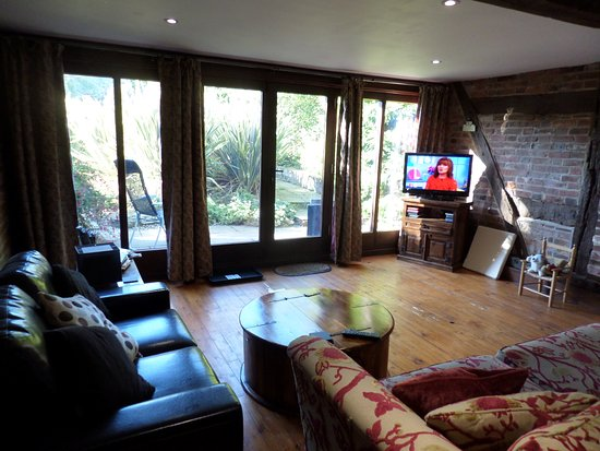 Challock, UK: Large lounge area