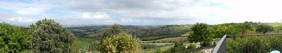 Montecarotto, إيطاليا: Scenario mozzafiato <3