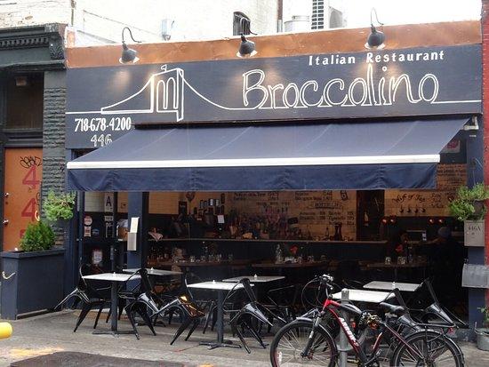 Broccolino Italian Restaurant Outdoor Or Indoor Eating