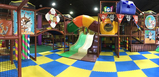 The Woodlands, TX: We have an amazing park that looks like a pirate ship, with fun slides, ball pit, epic tunnels a