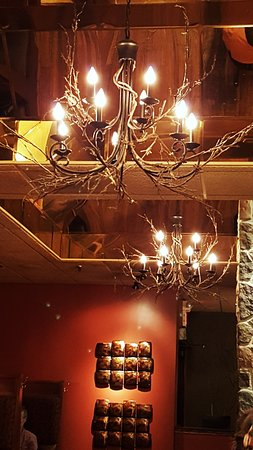 Twigs chandelier decor picture of twigs tavern grille rochester twigs tavern grille twigs chandelier decor aloadofball Image collections