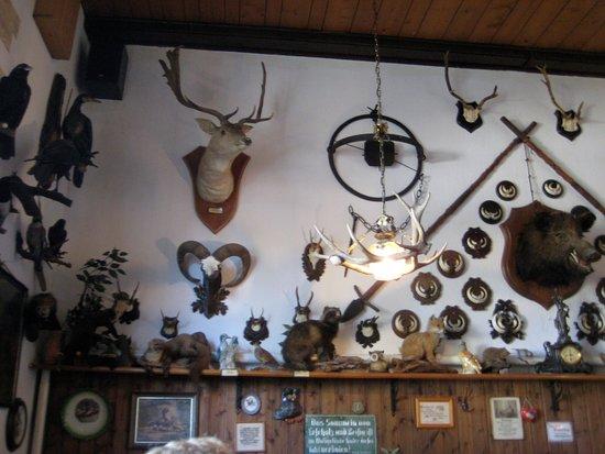 Hohen Demzin, Alemania: Etwas ungewöhnliche Deko