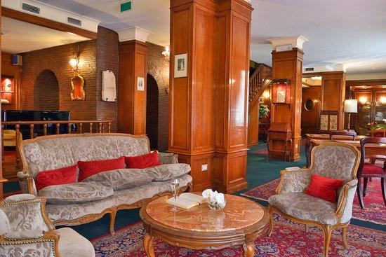 Hotel Forum Roma: Hall