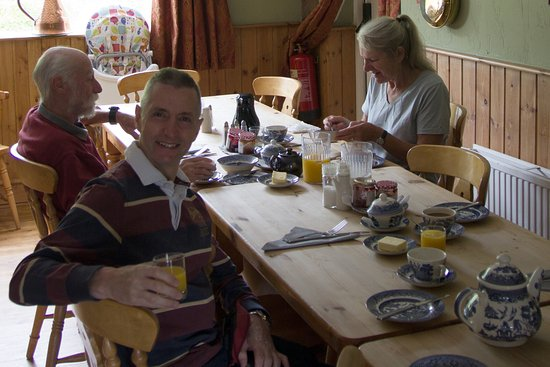 Painscastle, UK: Breakfast at The Roast Ox