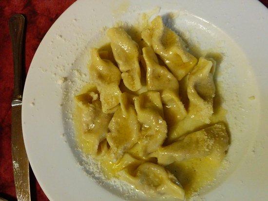 Valbondione, อิตาลี: casoncelli alla bergamasca