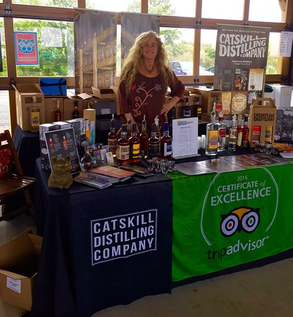 Bethel, État de New York : Stacy on the Road with Catskill Distilled Spirits