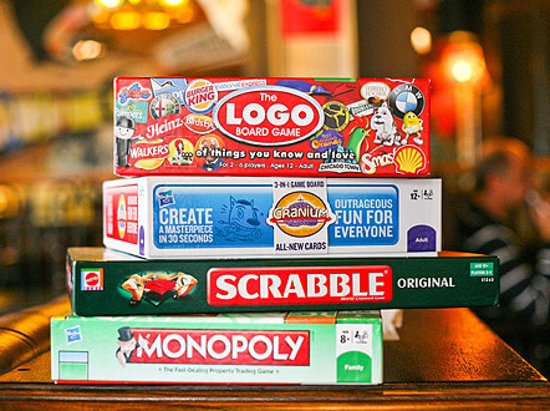 The Green Man Cider House & Kitchen: Pick your board game!