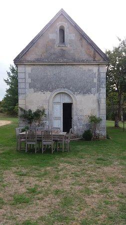 Port d'Envaux, France : La chapelle