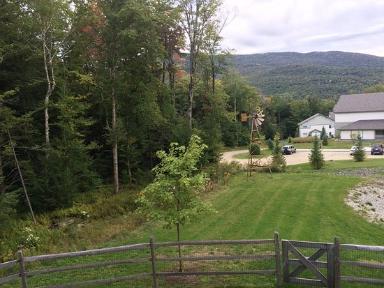Morrisville, VT: Smuggler's Notch condo, view from balcony