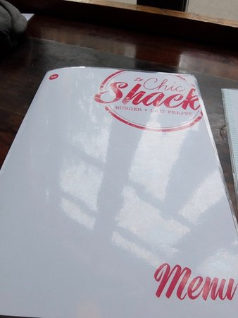 Le Chic Shack: Menu