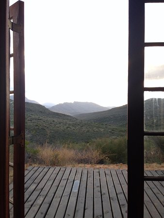 Citrusdal, Sudáfrica: View from inside the cottage