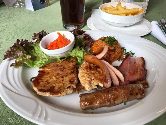 Weingarten, เยอรมนี: Grillteller