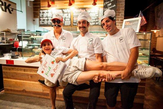 Mr. Moto Pizza House: Mr Moto's family! :)