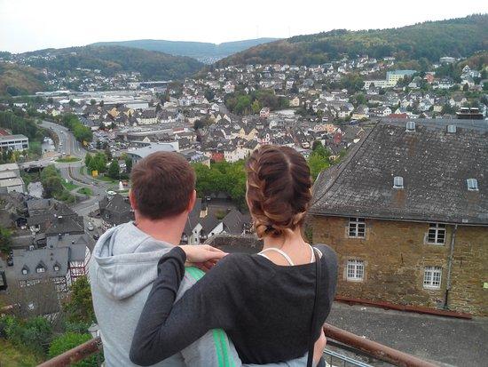 Dillenburg, Alemania: Вид на город