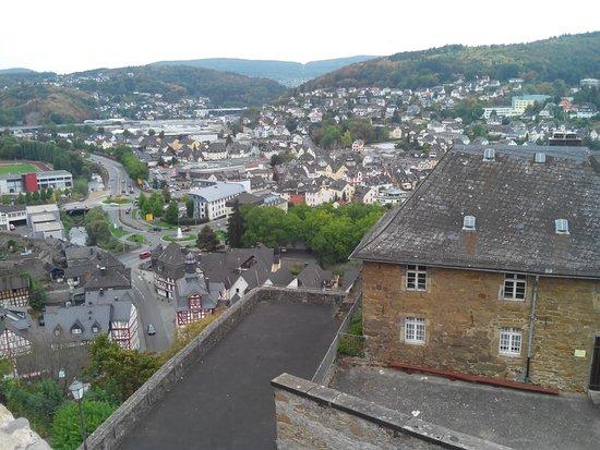 Dillenburg, Alemania: Вид на городо