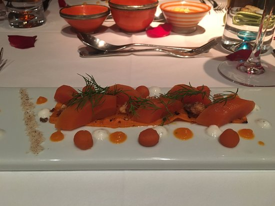 Gastro MK at Maison MK : Carrot and hazelnut salad
