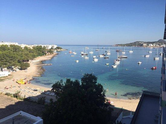 Sundown Ibiza Suites & Spa: Muy linda viste desde el balcon.
