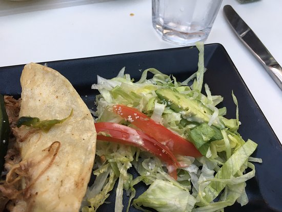 "Taco Diner: The so called ""Avocado Salad"""