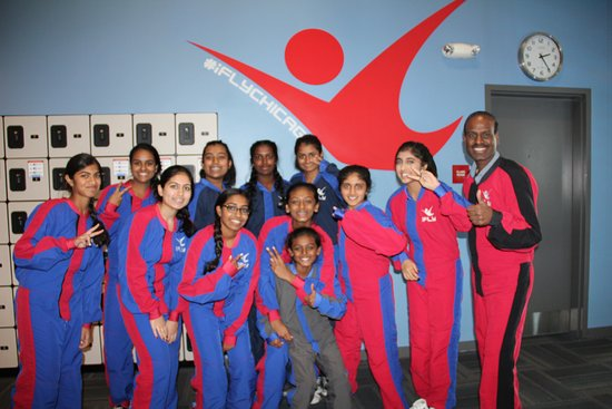 iFLY: Group who participated in the activity