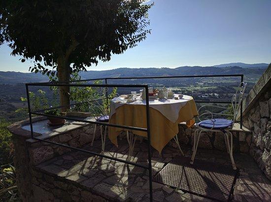 Hotel Villa Clodia: A colazione...
