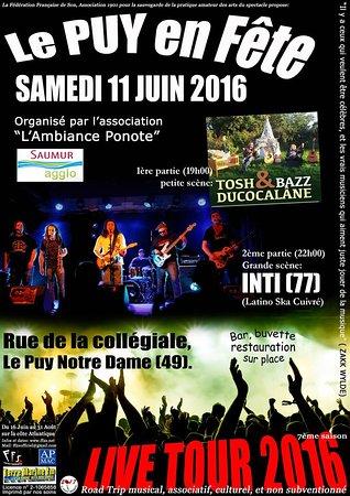 Le Puy-Notre-Dame, Francja: La fête de la musique