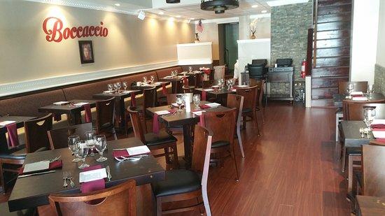 Newtown, Pensilvania: Boccaccio Restaurant
