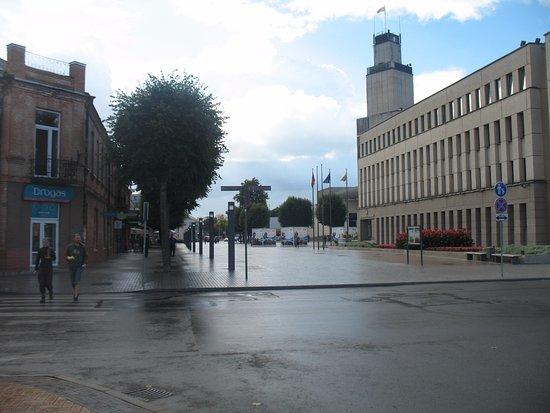 Alytus Town Hall Square