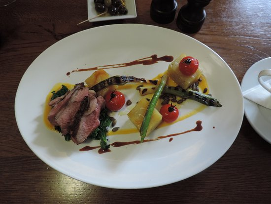 Sidlesham, UK: Roast Rump of Lamb