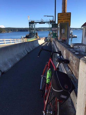 Friday Harbor, Waszyngton: Ferry Landing.
