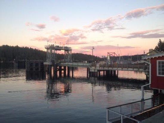 Friday Harbor sunset.