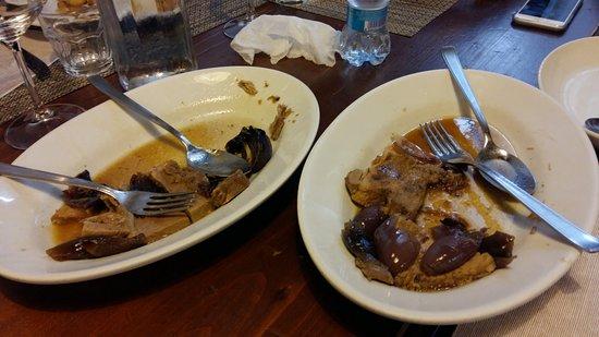 Бураго-ди-Мольгора, Италия: Carne