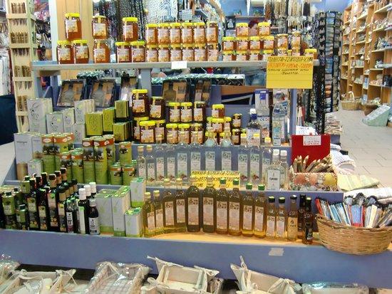 Rethymnon, Grekland: Markthalle