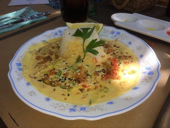 Sant Carles de Peralta, España: Curry