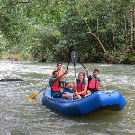 Tenorio Volcano National Park, كوستاريكا: Tubbing 