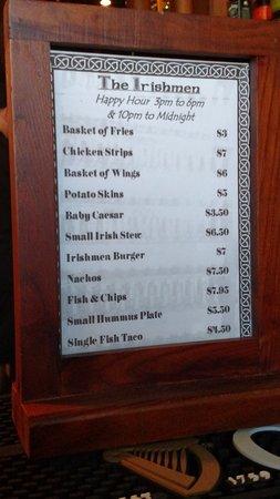 เอเวอเรตต์, วอชิงตัน: Good happy hour food menu