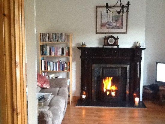 Belmullet, İrlanda: Comfy living room