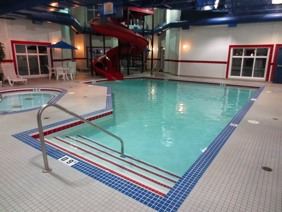 Pincher Creek, Καναδάς: indoor pool