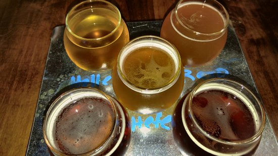 Rowlett, TX: beer flight