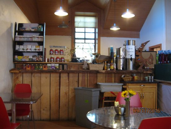 Arroyo Seco, Nuevo Mexico: Coffee bar at Sol Cafe
