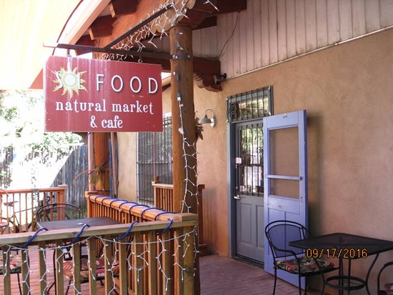 Arroyo Seco, Nuevo Mexico: Entrance to Sol Food Natural Market & Cafe