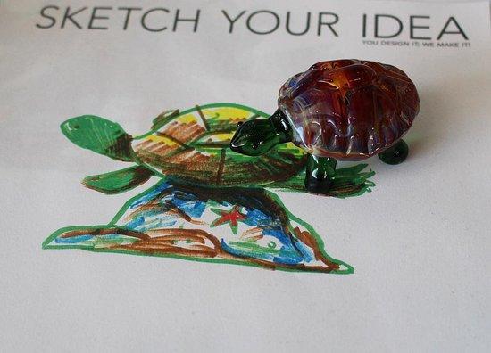 คอร์นนิง, นิวยอร์ก: You Design It, We Make It! Made at the Flameworking Demonstration in the Innovation Center