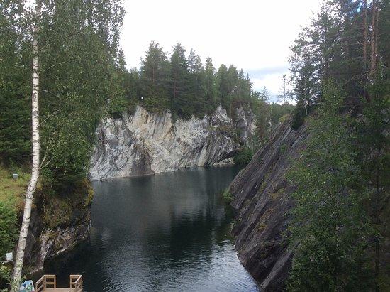 Ladoga Lake, Russland: Мраморный каньон