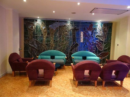 Hotel Terme Orvieto: un angolo della hall