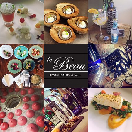 Restaurant Le Beau: collage